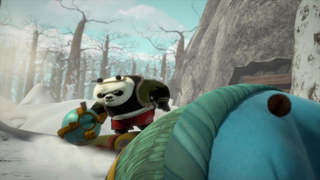 Kung fu panda tv series kicks ass with multiple pre