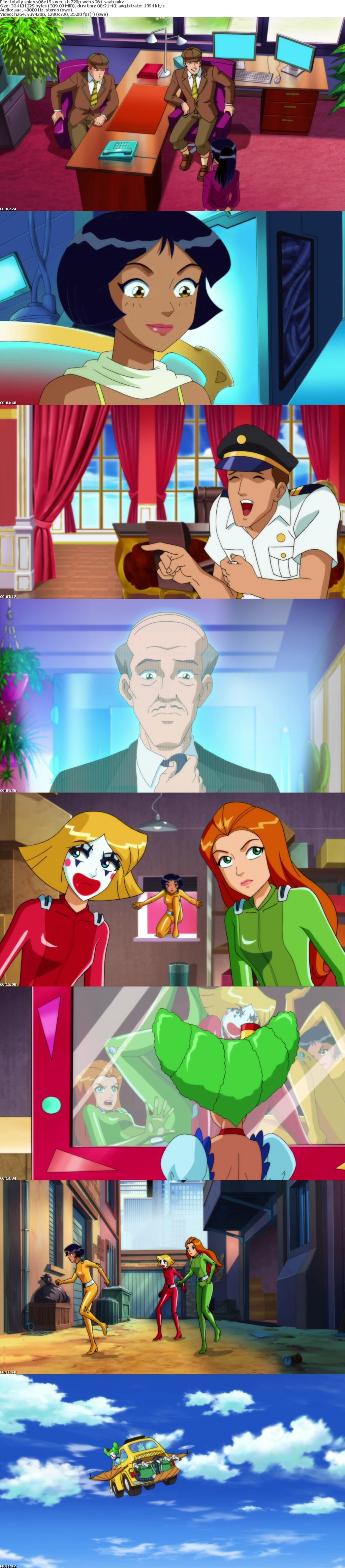 Totally Spies Swedish