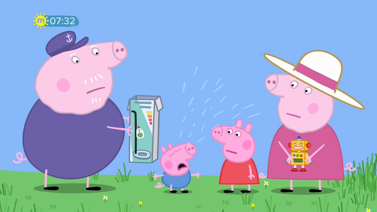 Peppa Pig S06e12 Grandpa Pigs Metal Detector 720p Hdtv Dd5 1 X264