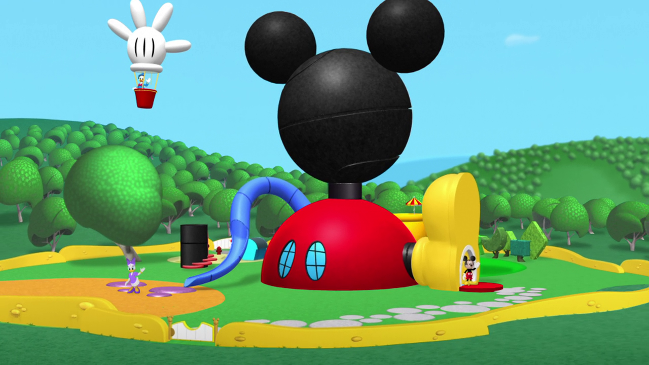 mickey mouse clubhouse donald jr