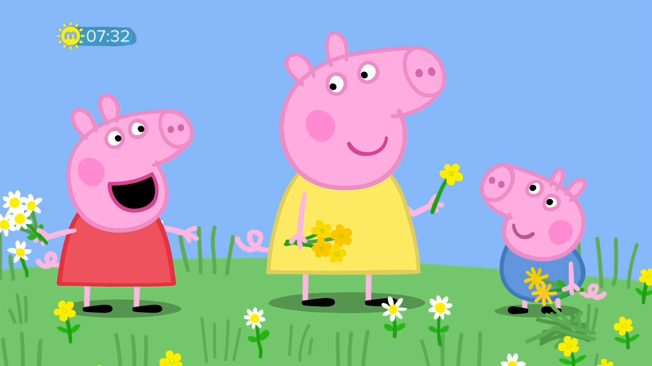 Peppa Pig S06E10 Buttercups Daisies and Dandelions 720p HDTV